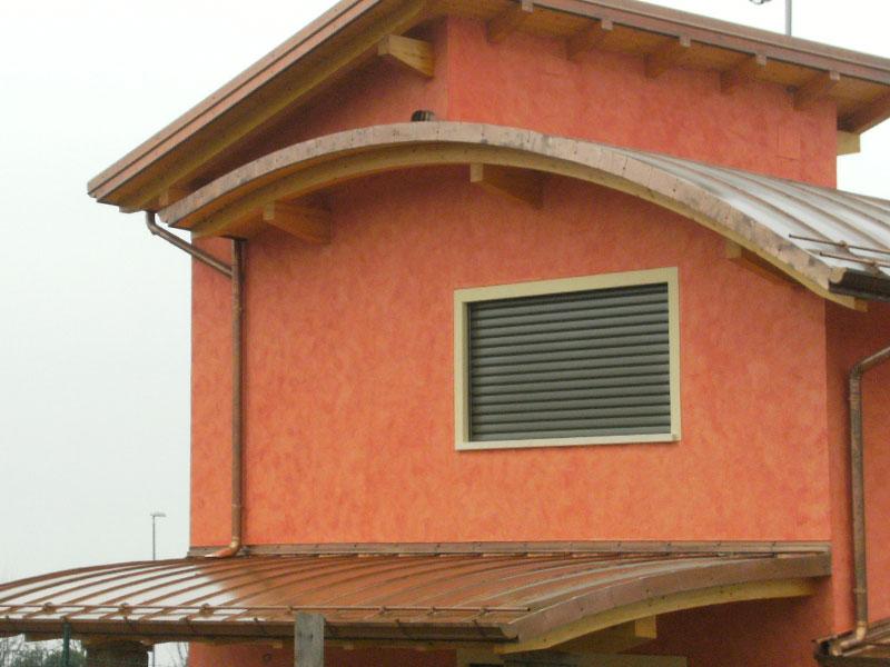 Installazione lattonerie in rame-Camisano-Eredi Pisoni-01