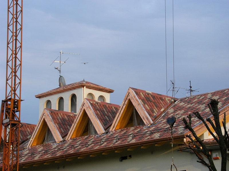 Installazione lattonerie in rame-Vidolasco-Eredi Pisoni-02
