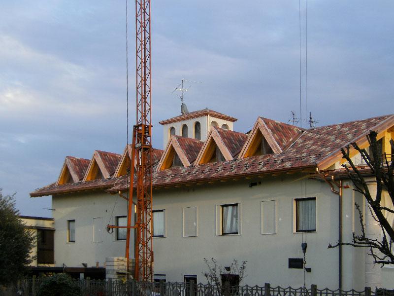 Installazione lattonerie in rame-Vidolasco-Eredi Pisoni-03